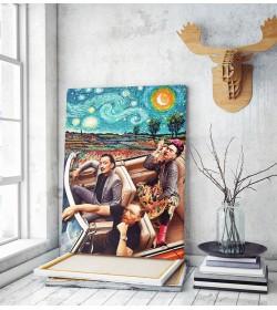 Πίνακας σε Καμβά : Famous Artists Art