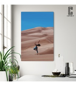 Πίνακας σε καμβά Χορεύτρια στην Έρημο