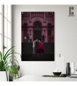 Πίνακας σε καμβά Ζευγάρι χορευτές
