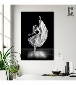 Πίνακας σε καμβά Χορεύτρια στη σκηνή