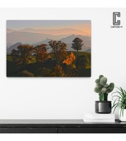 Πίνακας σε καμβά Φθινοπωρινό Τοπίο
