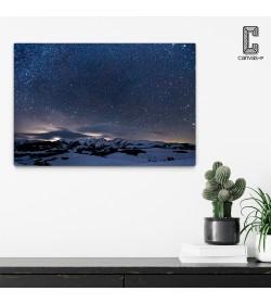 Πίνακας σε καμβά Νύχτα στο Βουνό